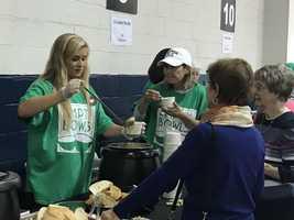 WBAL-TV team volunteers at Empty Bowls