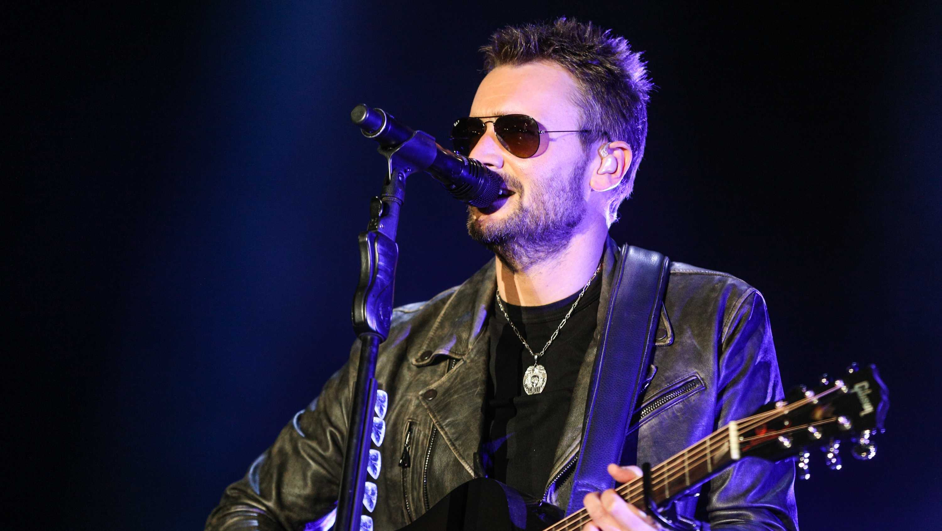 Eric Church performs at the 2016 Stagecoach Festival at the Empire Polo Club on Friday, April 29, 2016, in Indio, Calif. (