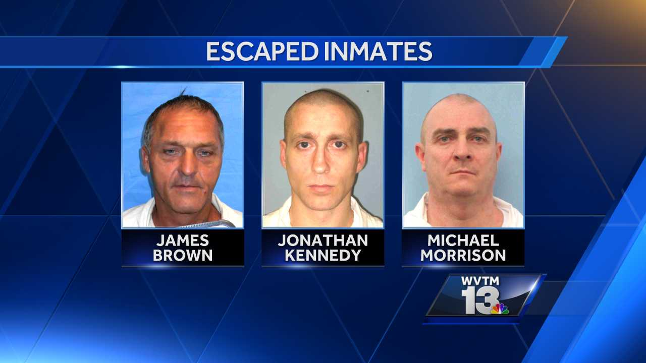 ADOC searching for 3 escaped inmates
