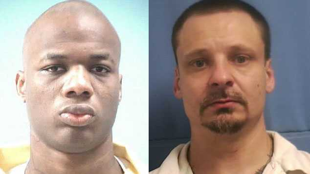 Two men, one a convicted murderer, escape from MS prison