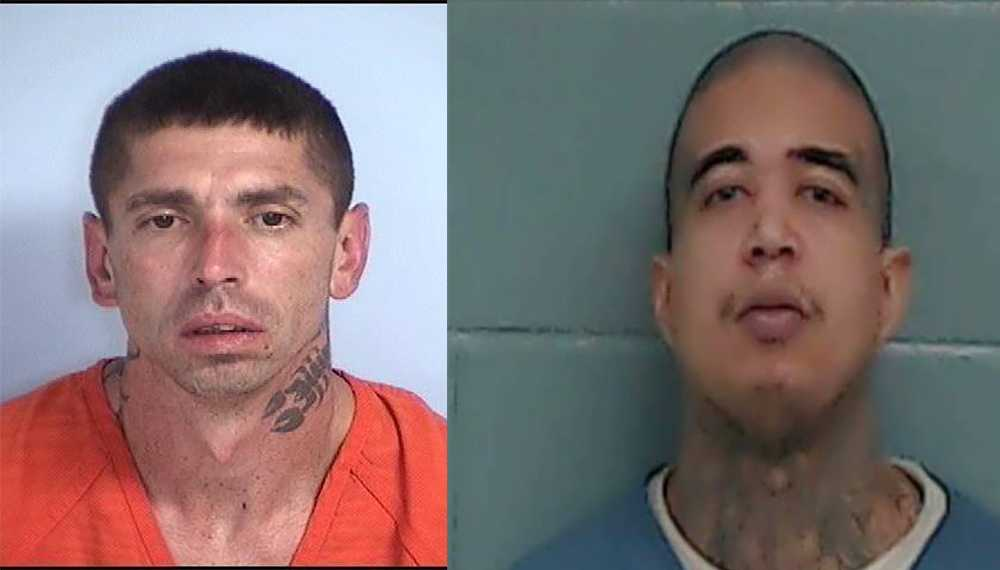 WCSO: Search underway for two escaped inmates