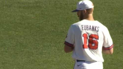 Alex Eubanks Clemson Baseball