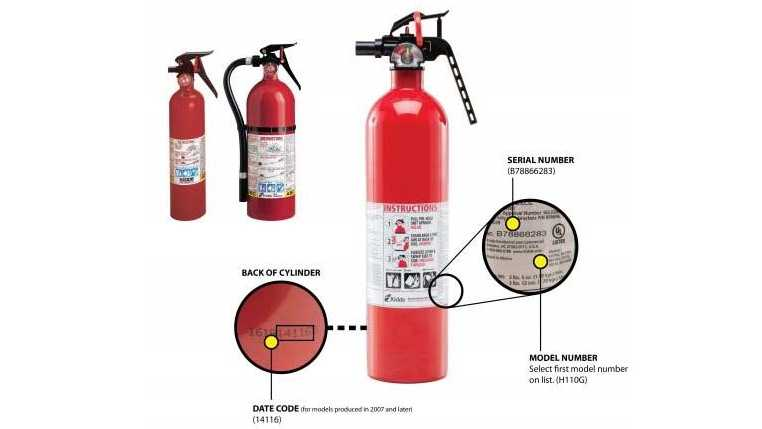 Kidde Company Fire Extinguishers