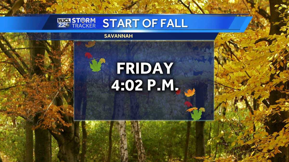 Happy First Day Of Fall! (Not So Fast, Says the Weather…)