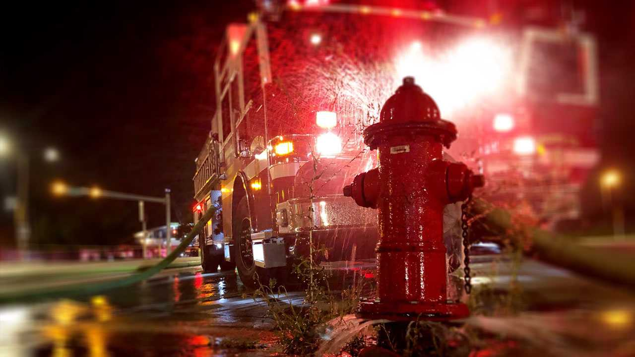 Total loss e in custody after fire rips through