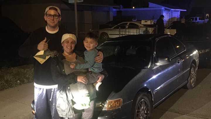 Stolen Car Returned To Family