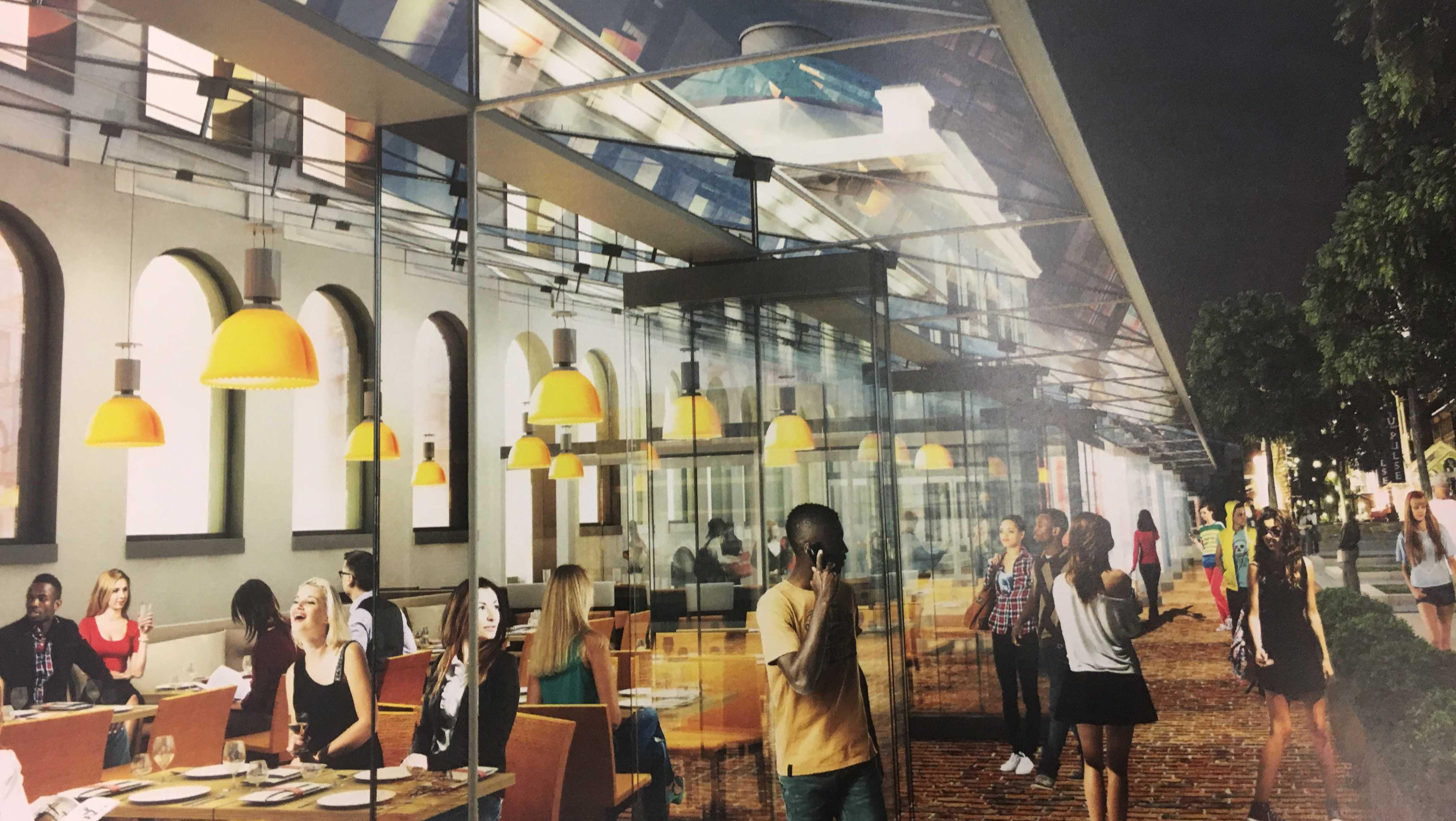 Faneuil Hall renderings