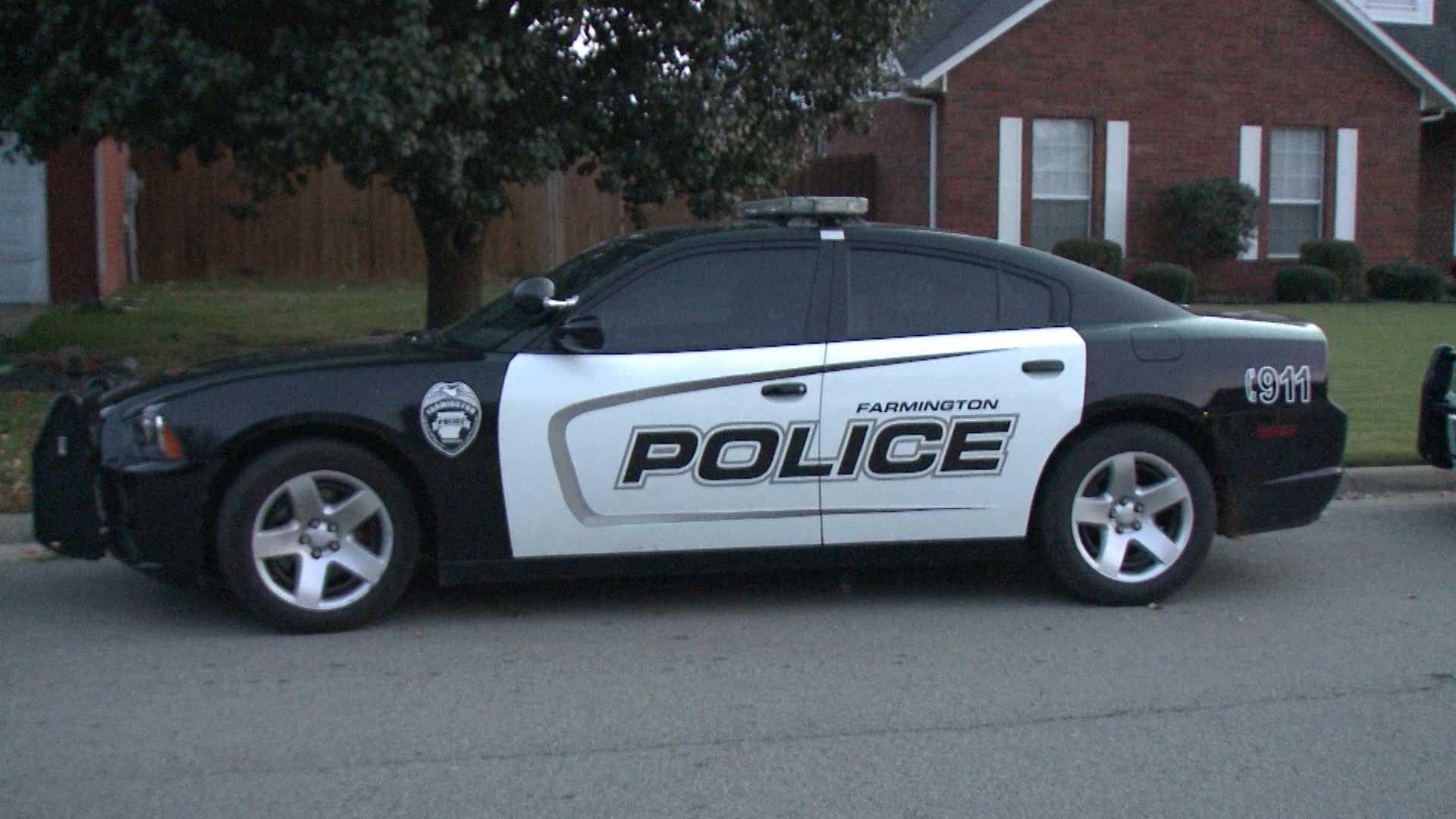 Farmington Police Department car