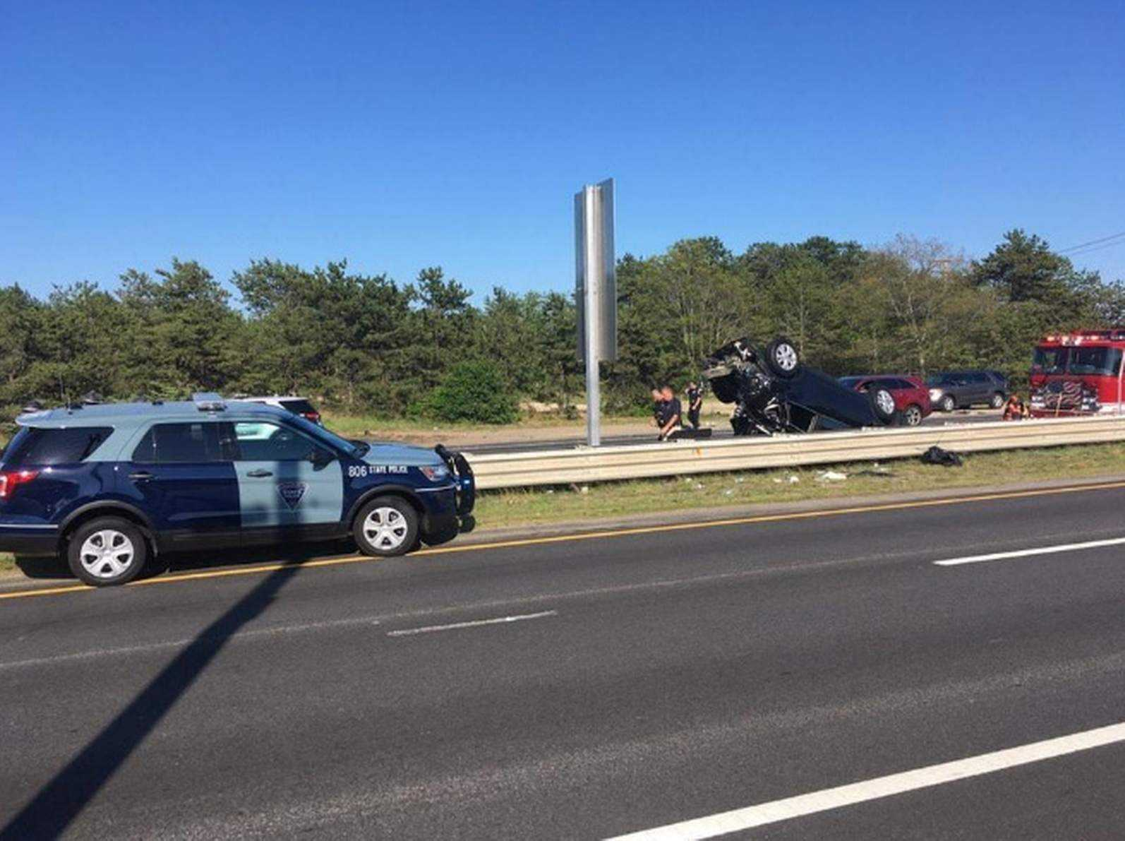 One killed, four injured in Route 28 crash in Bourne