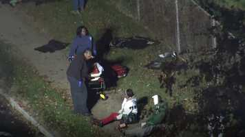 Fatal school bus commuter bus crash Baltimore