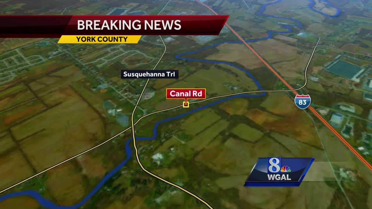Fatal crash Conewago Township map