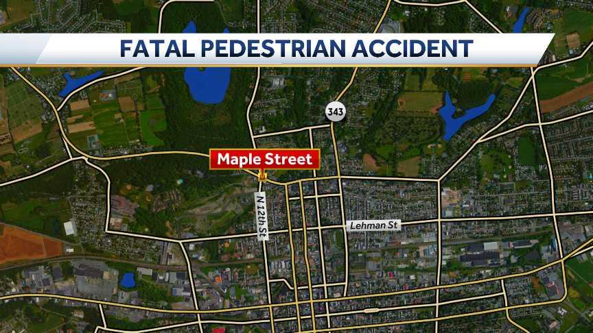 Lebanon, fatal pedestrian accident
