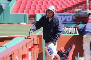 Fenway prepares for Opening Day 2017