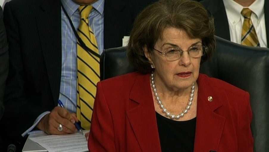 U.S. Sen. Dianne Feinstein