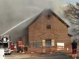 Advent United Methodist fire