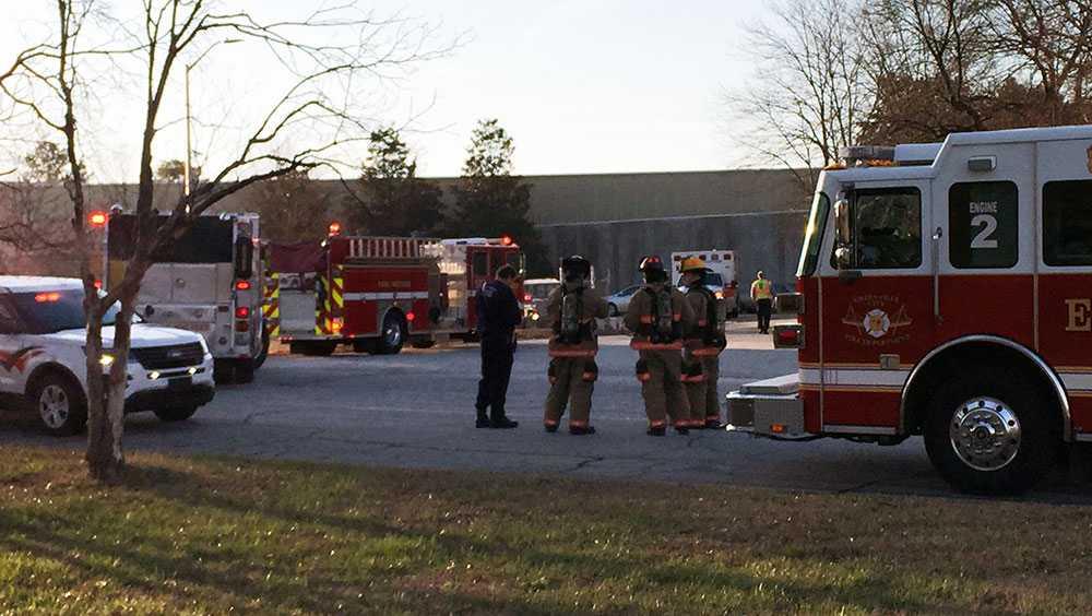 Fire at former Milliken Plant