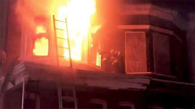 Poplar Grove Street fire