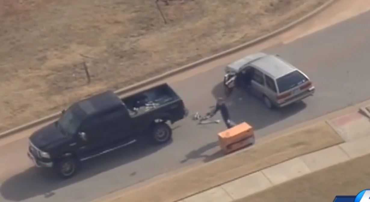 Police: Pastor who fired shots at high-speed chase suspect