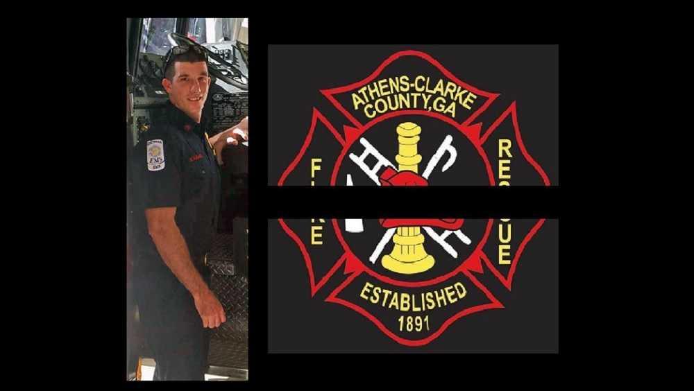 Firefighter Matt Hughes