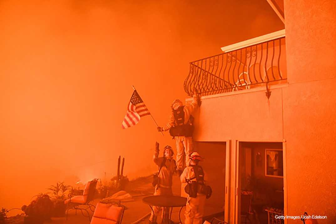 Large Wildfires Force Evacuations In California; 5000 Firefighters Deployed