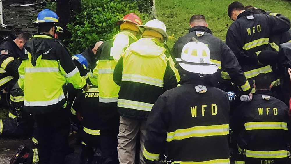 Mother, infant killed after tree falls on home as Florence pummels North Carolina