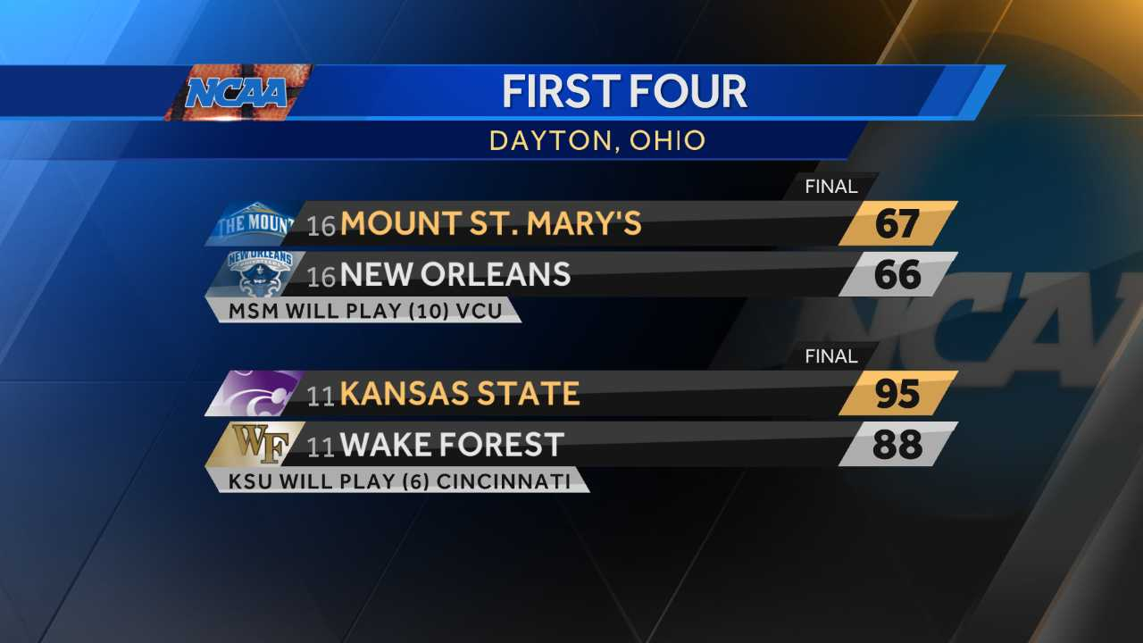 NCAA Tournament 2017 First Four