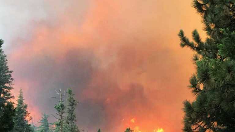 Donnell Fire