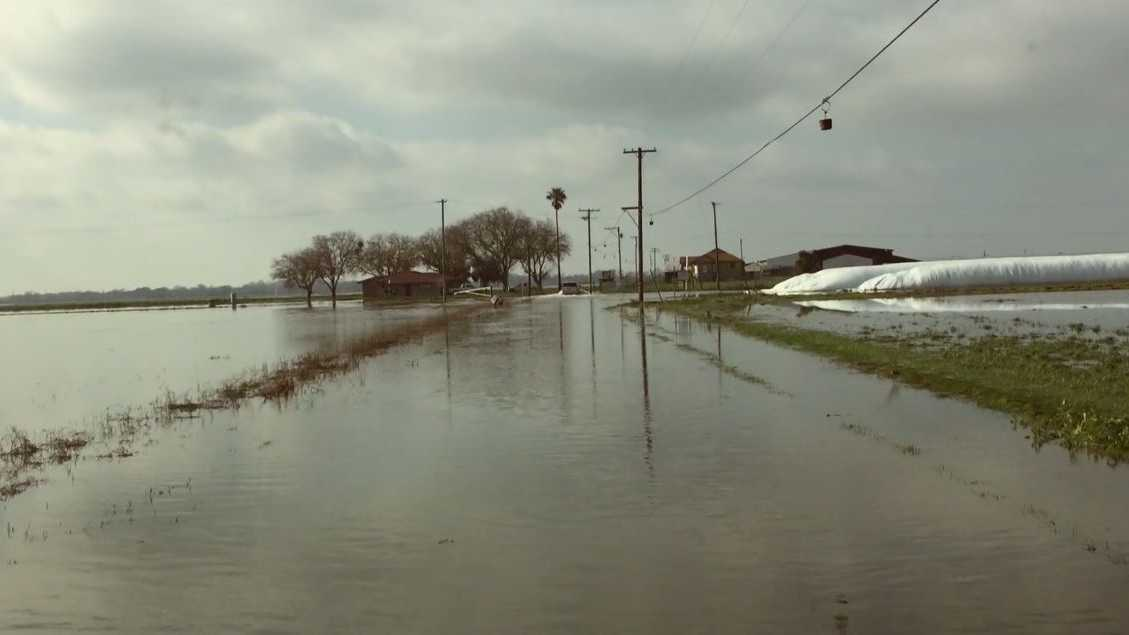 Parts of Wilton, a southern Sacramento County community, were flooded on Tuesday, Jan. 17, 2017, after storms moved through the region.