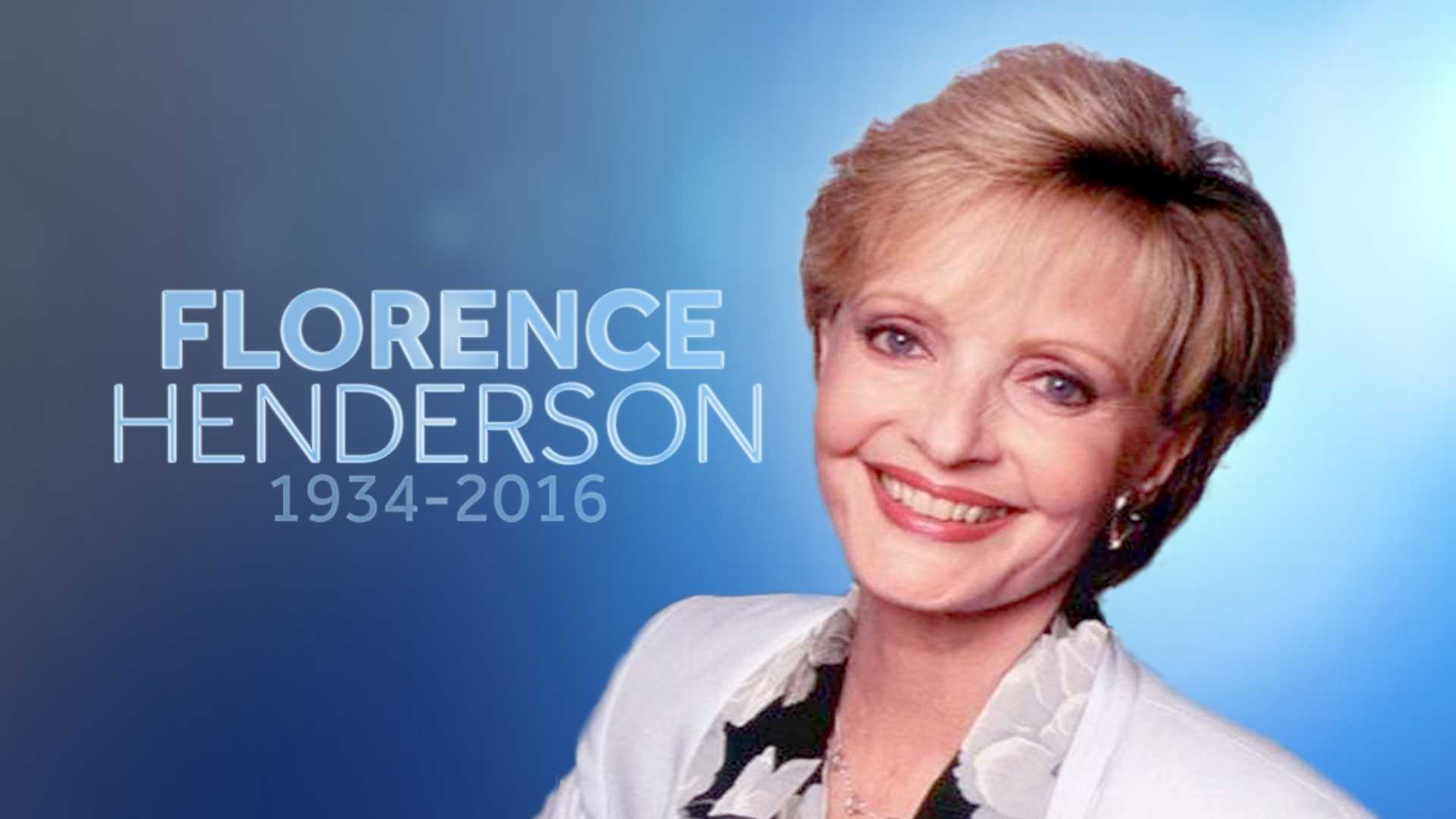 florence henderson died