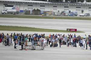 Florida airport shooting evacuations