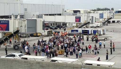 Fort Lauderdale, Fla., airport shooting evacuations
