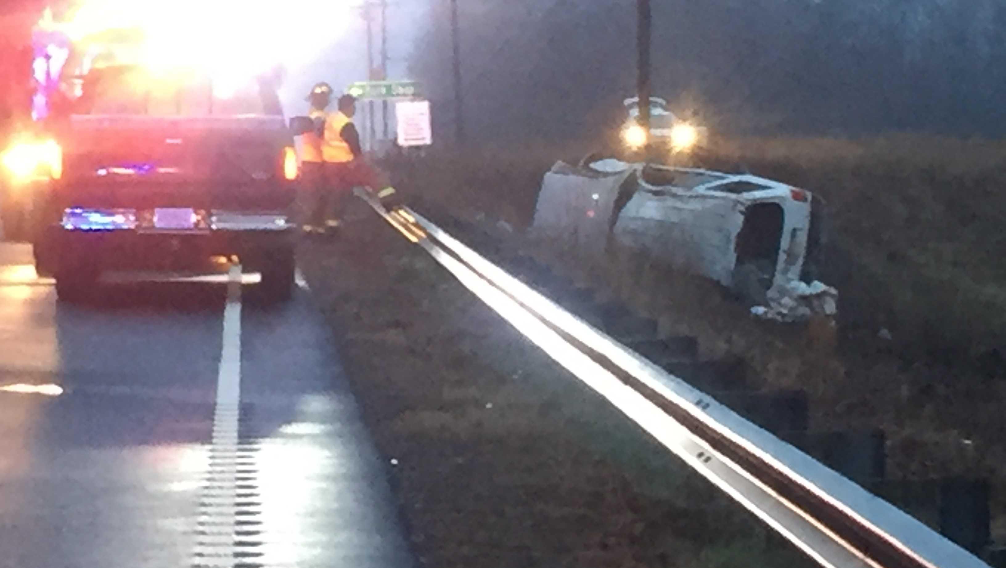 Fork Shoals Road crash