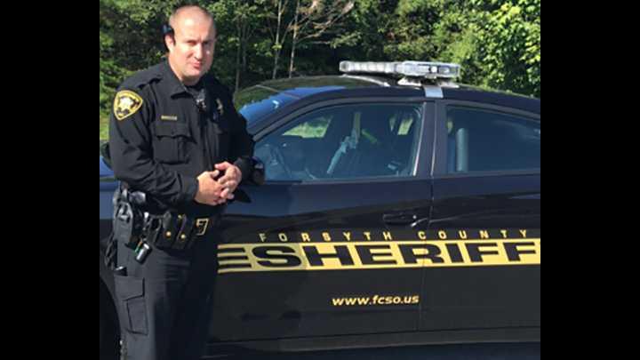 Forsyth County Deputy John Isenhour