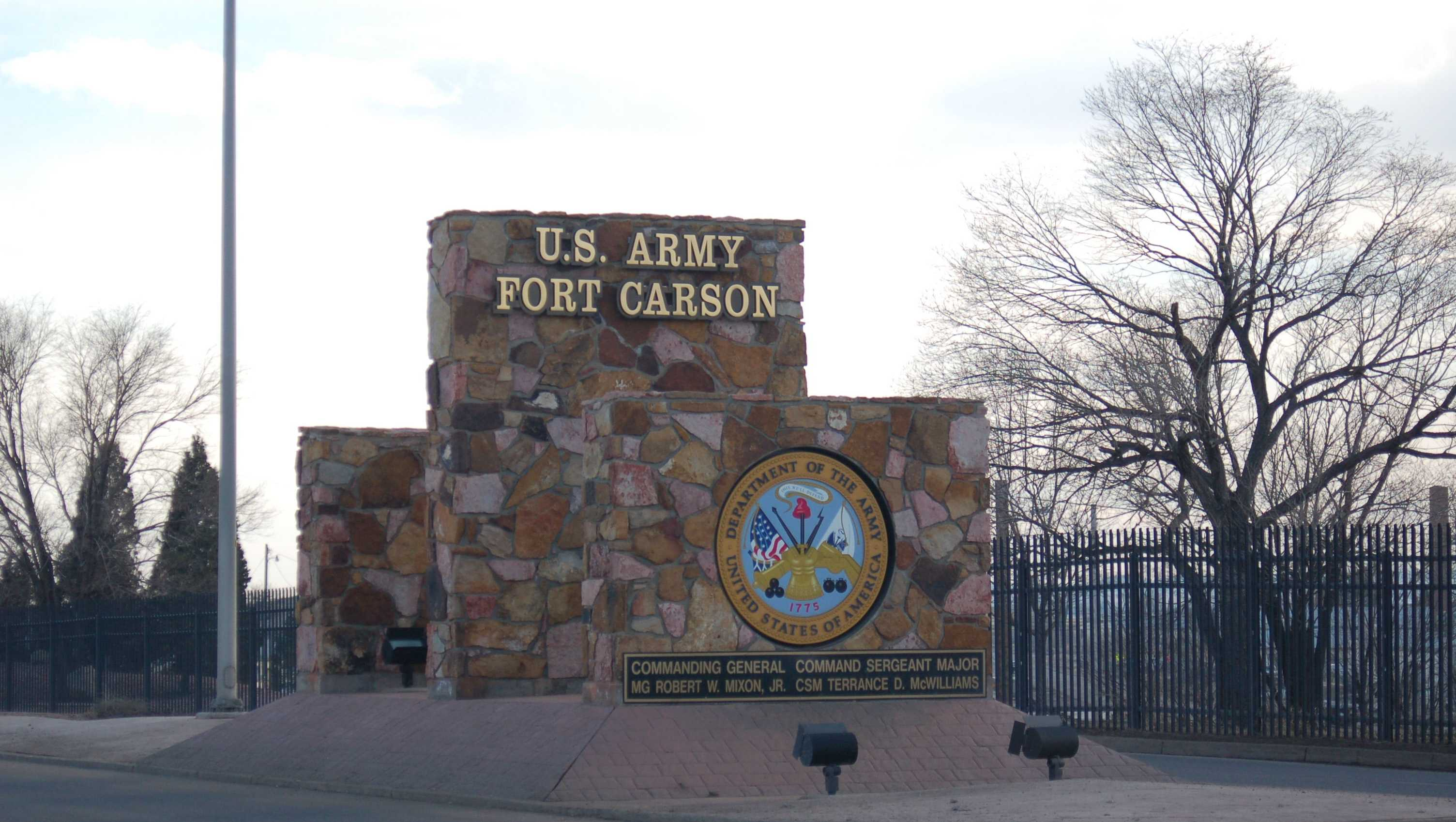Fort Carson near Colorado Springs, Colo.