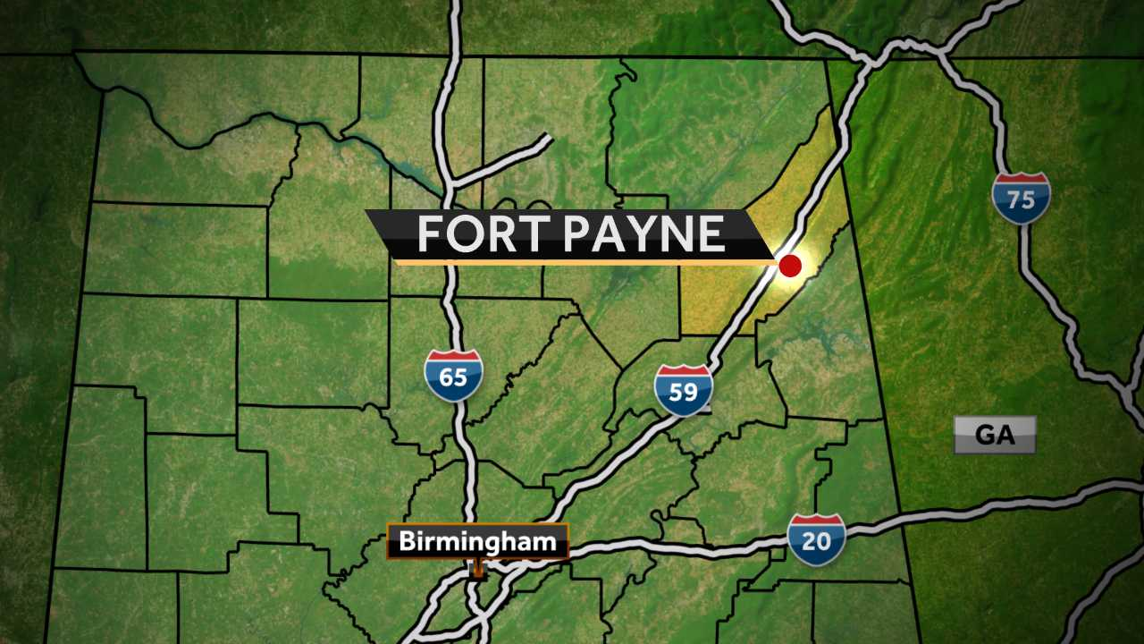 The U.S. Geological Survey reports that a quake occurred near the town of Fort Payne early Tuesday shortly after midnight.