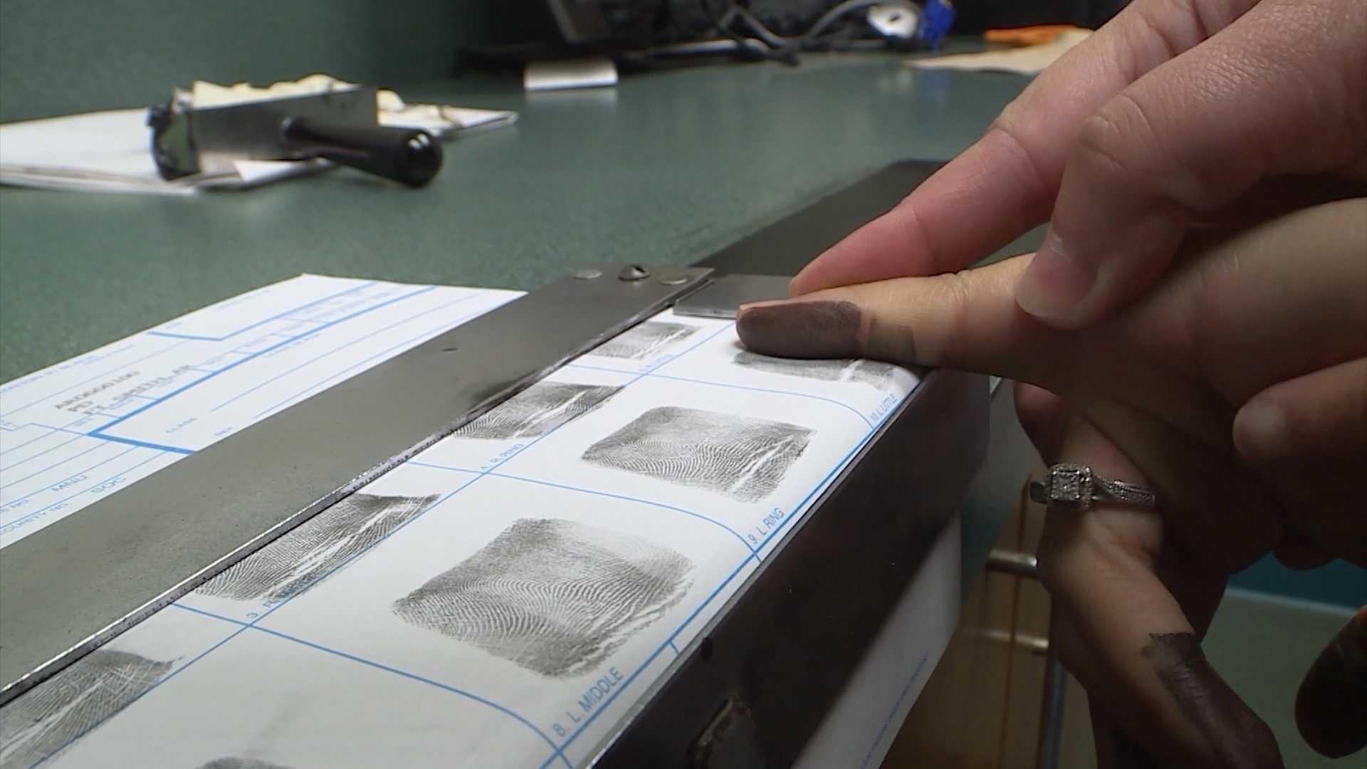 fort smith fingerprint machine