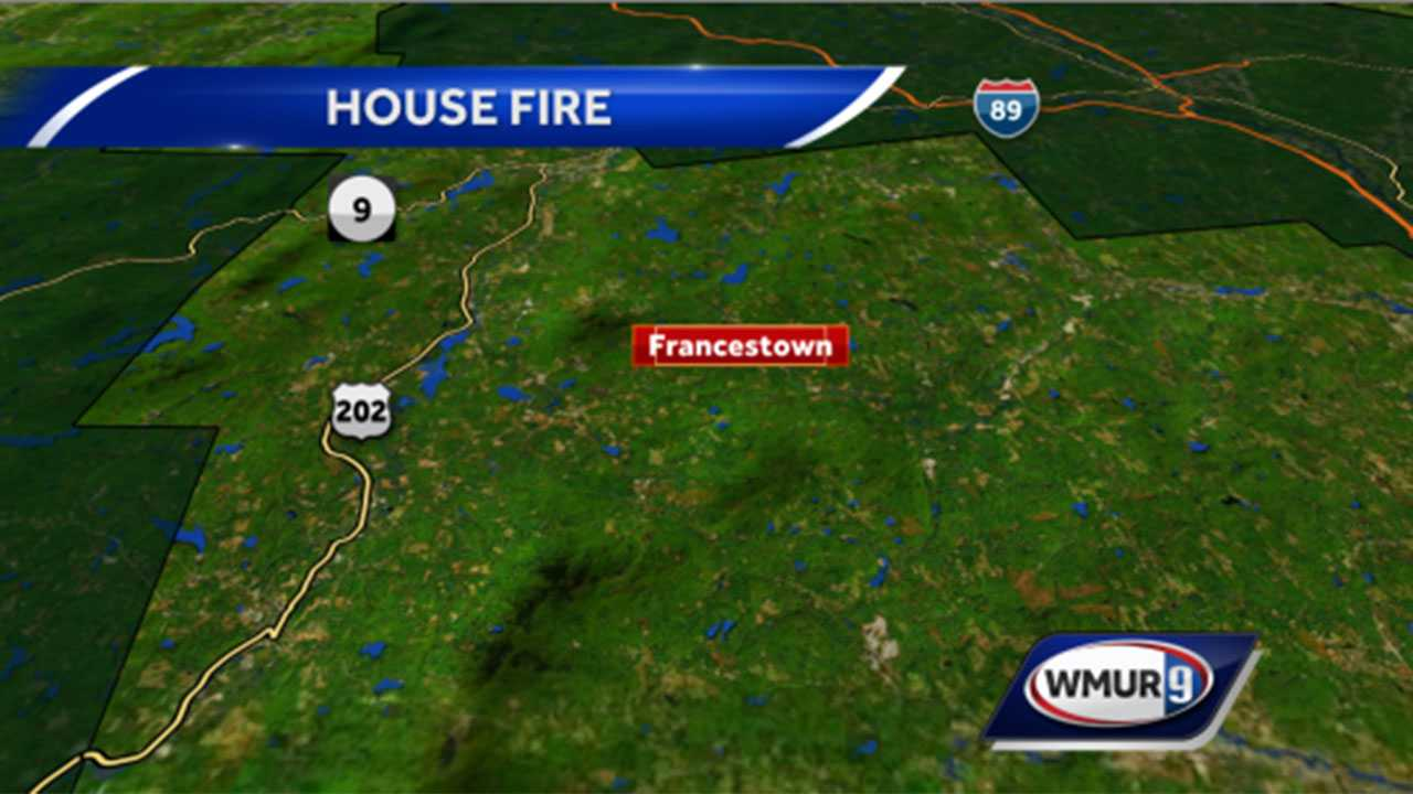 House fire in Francestown