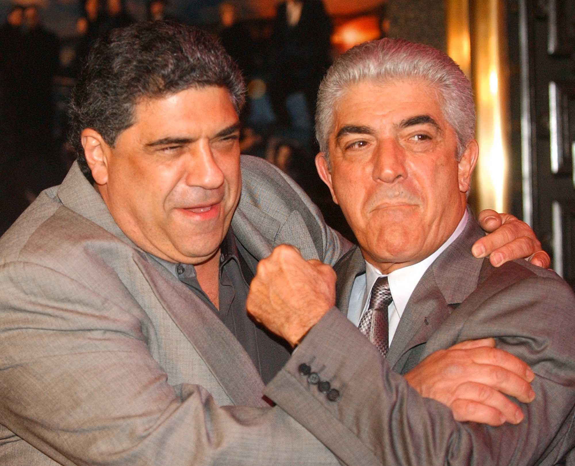 Frank Vincent died on Wednesday at the age of 78. He's