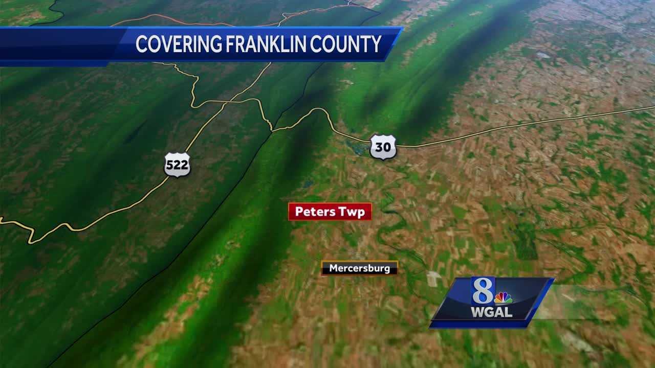 Fatal crash Franklin County map