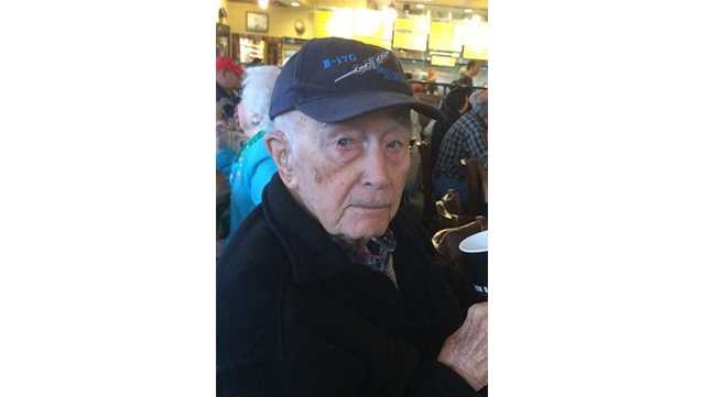 Frederick Smithson, 98, was reported missing Wednesday in Annapolis