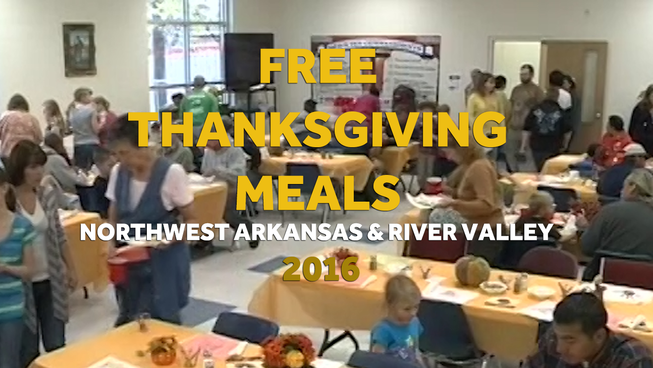 Free Thanksgiving Meals 2016