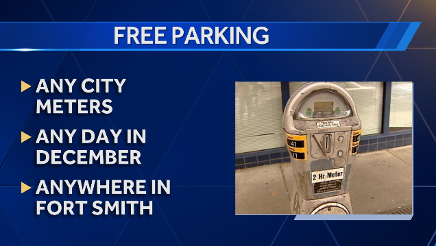 Free Parking in Fort Smith