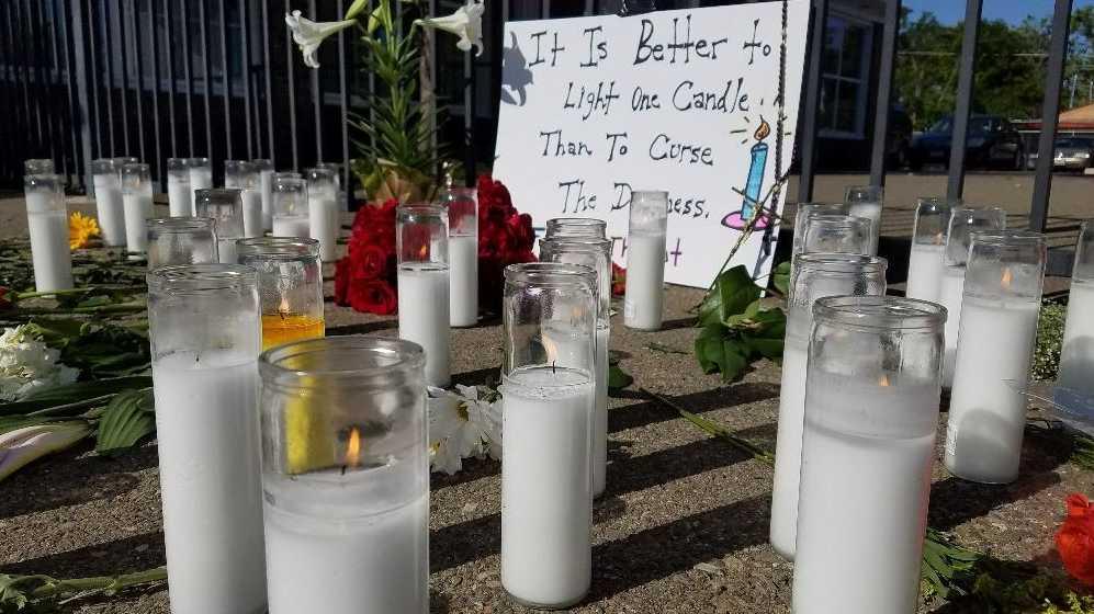 Fresno shooting vigil