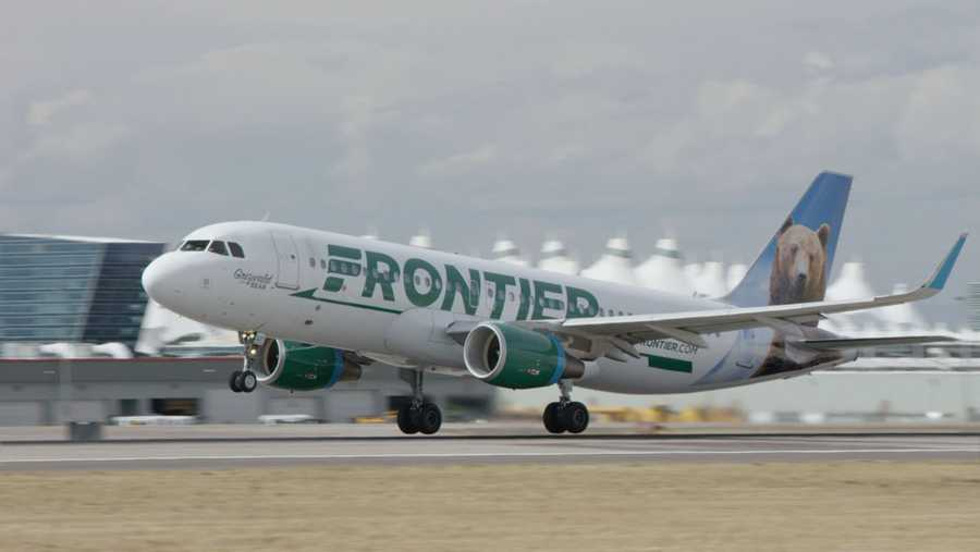 Frontier Offering New Flights From DSM To Las Vegas - My flight to des moines