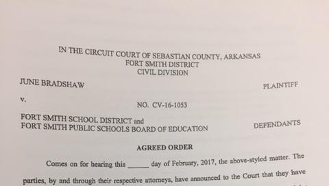 Fort Smith School Board FOIA agreed order
