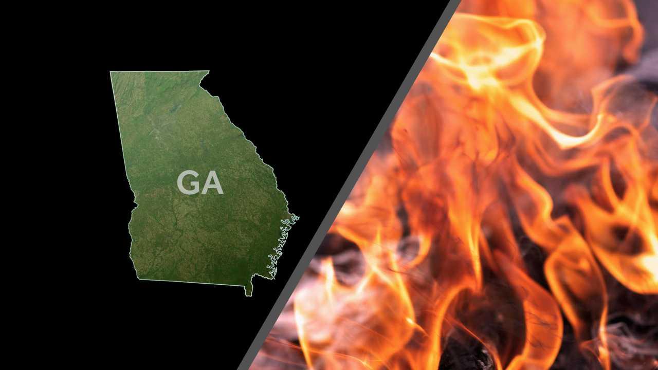 Georgia fire