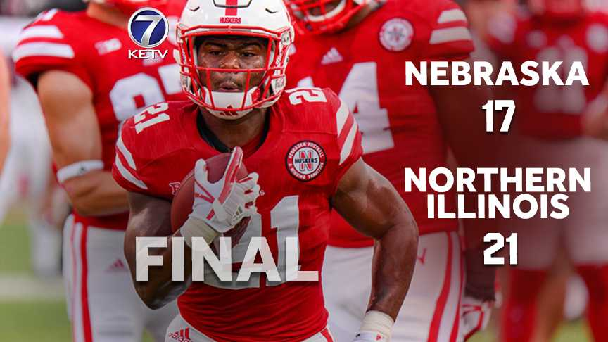 Nebraska trails Northern Illinois at the half