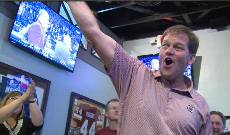 Gamecocks fans welcome team's return to Columbia after punching Final Four ticket