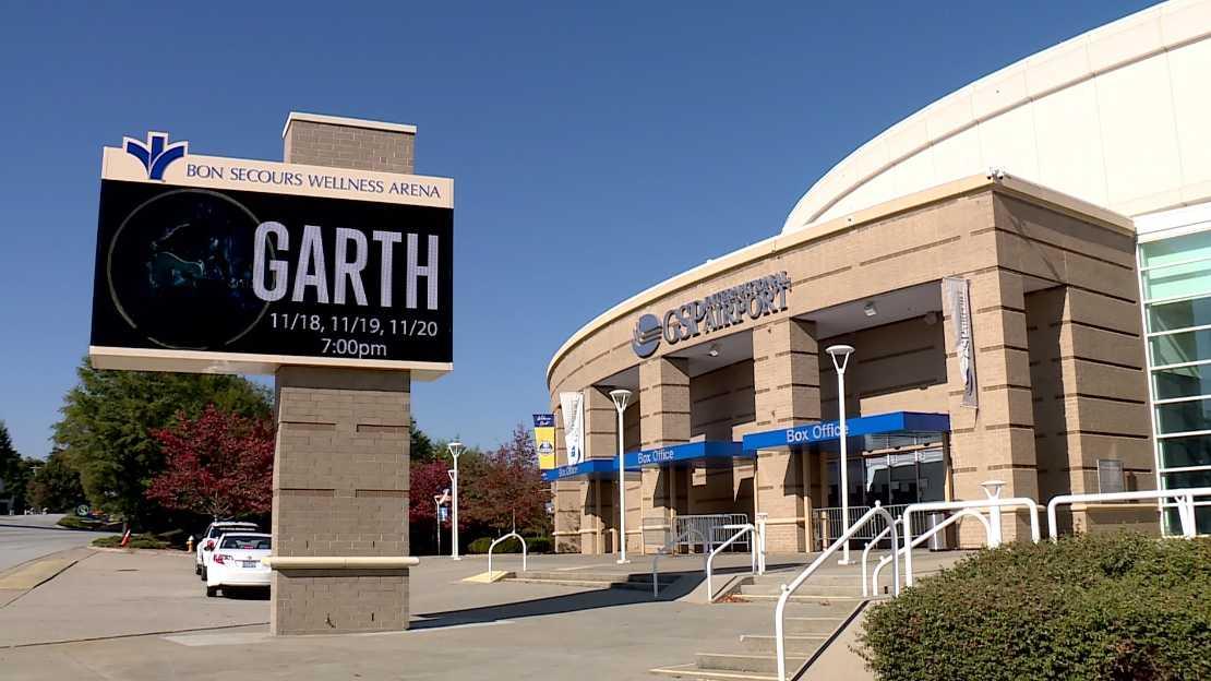 Garth Brooks concert at Bon Secours Wellness Arena