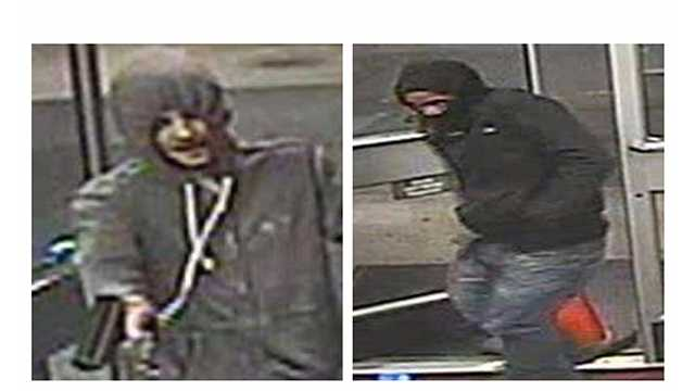Howard County police said these men robbed two Columbia gas stations on May 3.